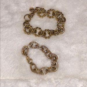 J.Crew Gold Bracelet Bundle